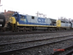 CSX 7039 & CSX 8031 running EB about to enter the Dewitt Yard 